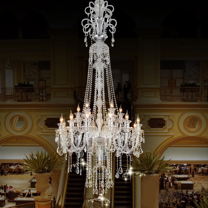 Online Get Cheap Big Crystal Chandelier Aliexpress – Candle Crystal Chandelier