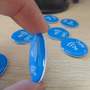 Image 2 - 3 шт./лот Ntag213 водонепроницаемый синий кристалл эпоксидной смолы для всех телефонов NFC