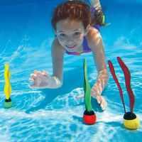 3/5 pcs multicolore plongée algues jouet piscine plongée entraînement amusant plongée jeu nouveauté plongée herbe jouets pour enfants