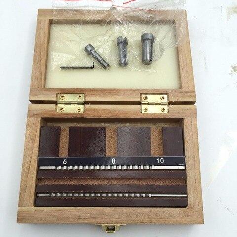 Buchas de Colarinho com Calços Ferramentas de Corte Abordar Chaveta Conjunto Metric Tamanho 6 Pcs 2mm 3mm Broches – 8 10 Cnc Hss