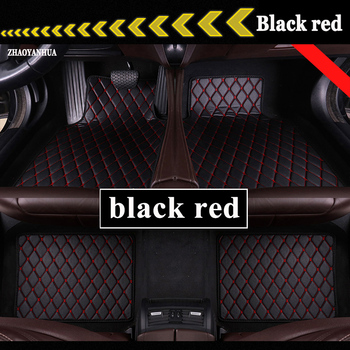 Car Floor Mats Universal for Skoda Octavia Fabia Superb Rapid Yeti Spaceback Joyste Car Leather waterproof floor mats carpet image