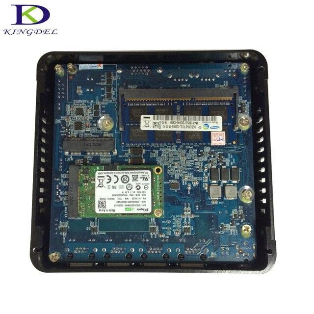 미니 pc 셀러론 j1900, 8g ram 미니 컴퓨터 사무실 hdmi 태블릿 windows 10 4 usb 2.0, 1 usb 3.0 팬리스 미니 pc tv 박스