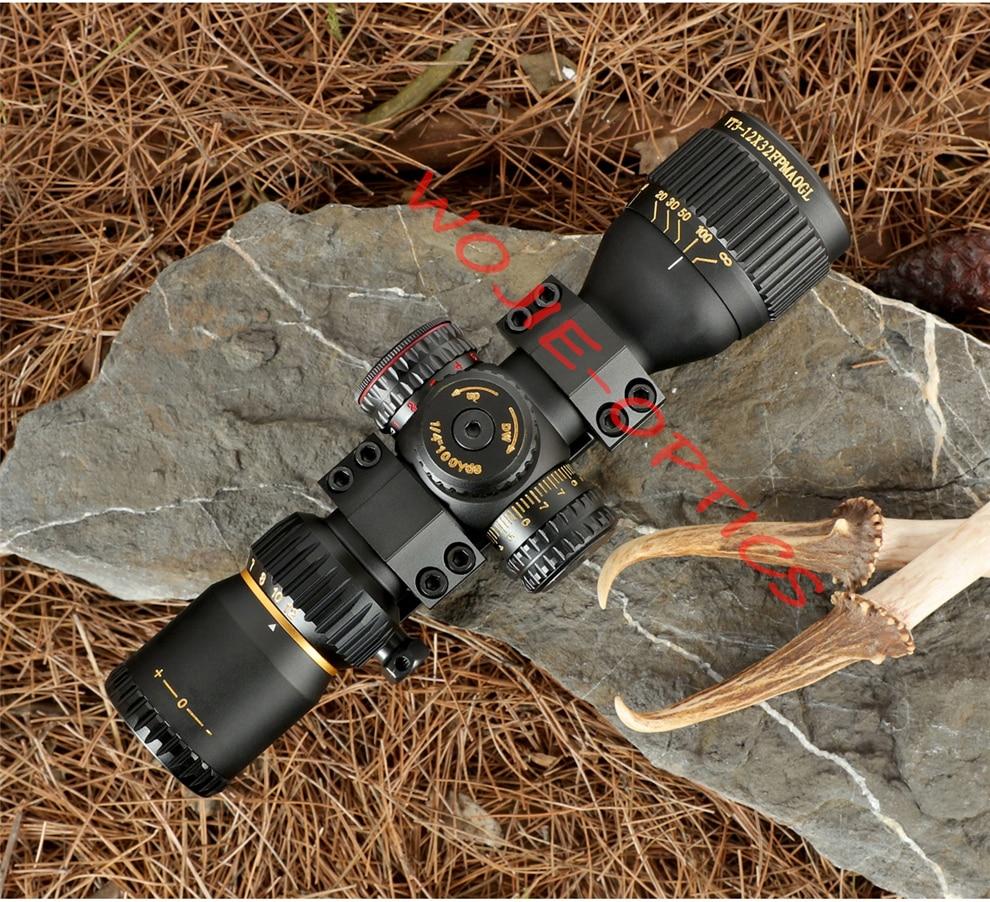 Sniper vt 3 12x32 ffp caça visão
