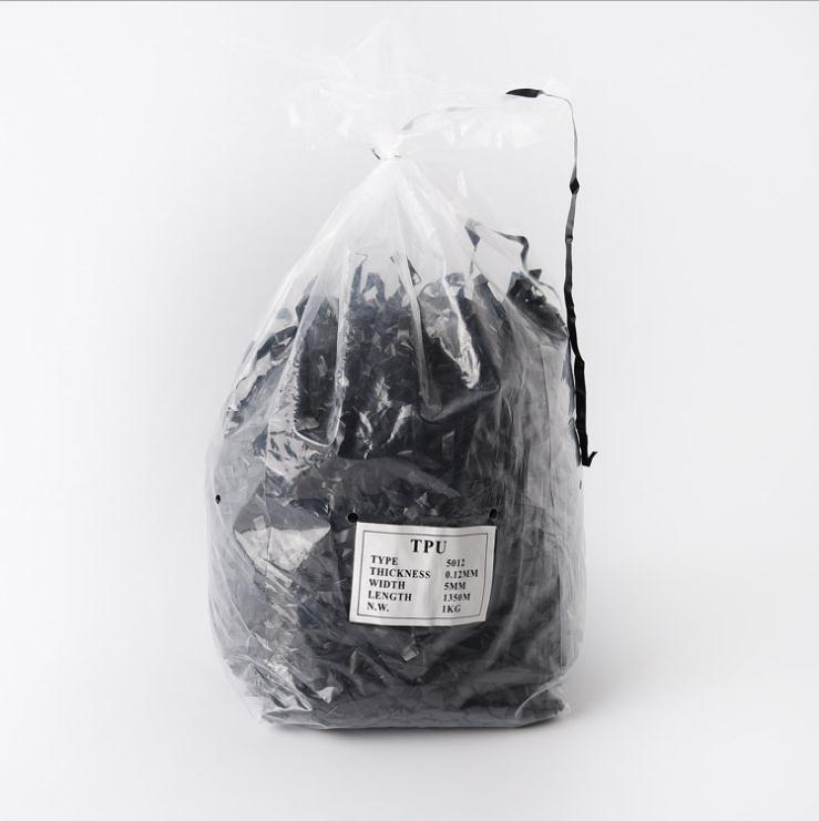 Bande élastique transparente TPU noire ou transparente pour maillots de bain, soutien-gorge, bandoulière 3mm 4mm 5mm 6mm 8mm 10mm largeur X 0.12 épaisseur