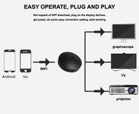 มินิG2ทีวีติดWireless WiFiแสดงD Ongleรับ1080จุดHD HDMIออกอากาศอะแดปเตอร์สื่อสำหรับAndroidทีวีพีซีของGoogle Chrome Cast 2