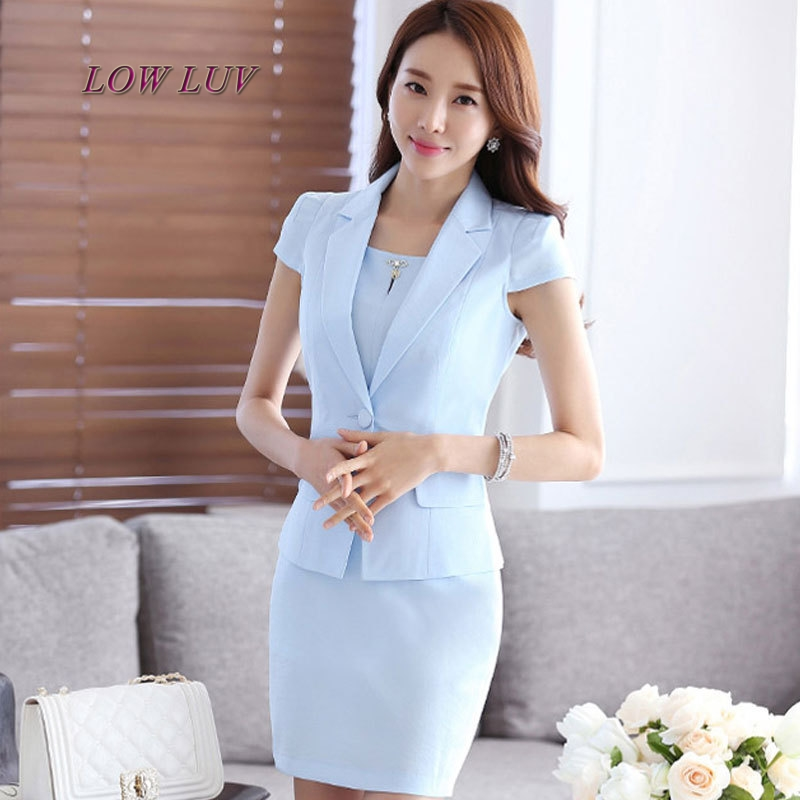 Pant Suits New Women Business Suits Blue Womens Pants Suit Slim Fit Suit Jackets With Pants Office Ladies Formal Ol Pants Work Wear Suits Unequal In Performance Suits & Sets