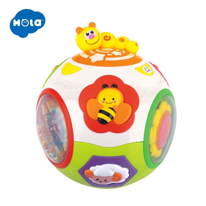 HOLA 938 bébé jouets enfant en bas âge ramper jouet avec musique et lumière enseigner forme/nombre/Animal enfants apprentissage précoce jouet éducatif cadeau - 5