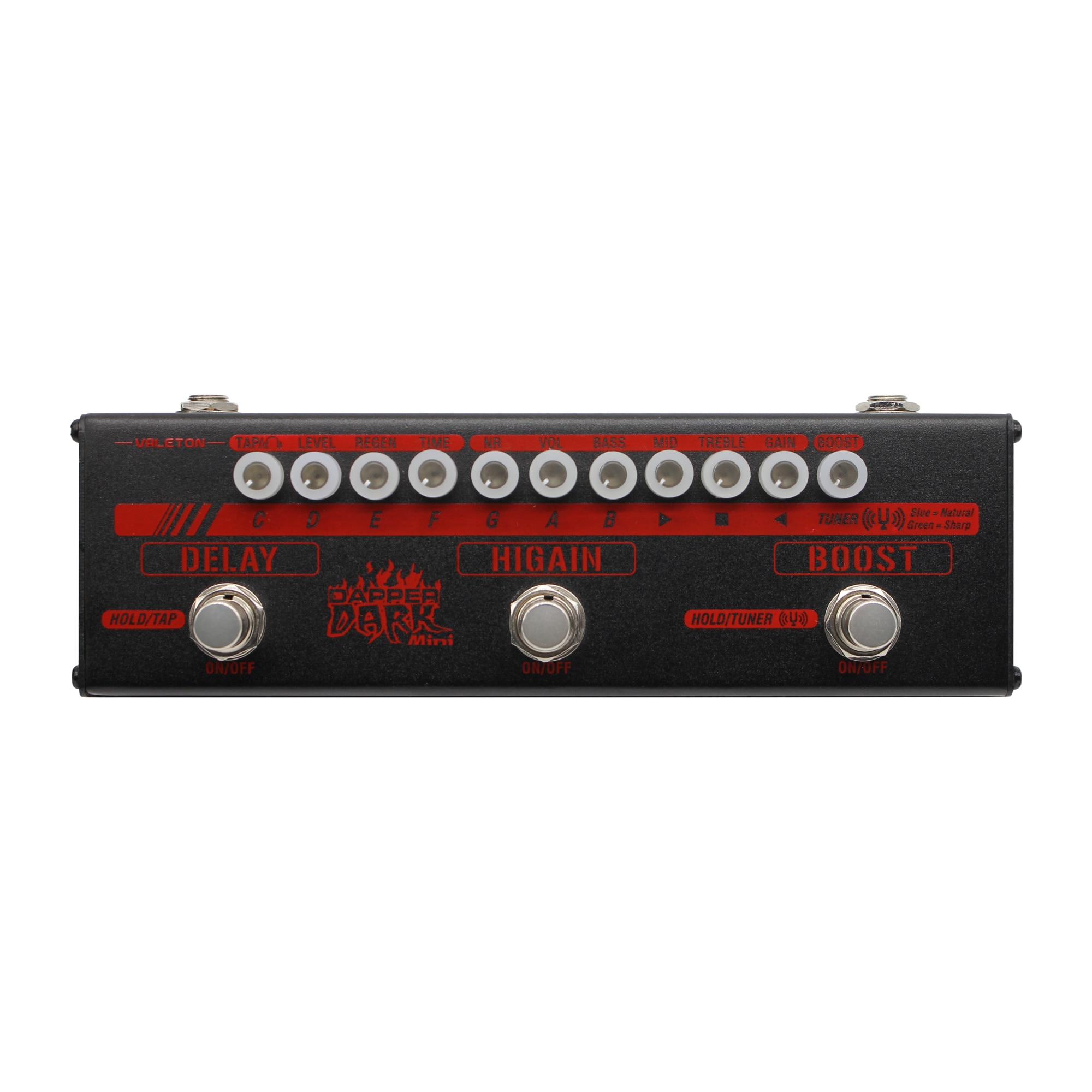 valeton dapper dark mini mes 3 electric guitar pedals high gain delay boost effects strip multi. Black Bedroom Furniture Sets. Home Design Ideas