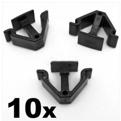 VOLVO BONNET INSULATION RETAINER CLIPS FOR HOOD SOUND DEADENER 10PCS