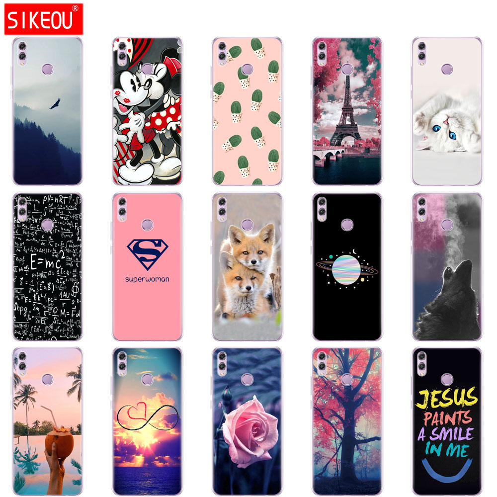 Silicone For Huawei Honor 8x Case 6.5 Inch  Soft Coqa For Huawei Honor 8x Cover  Full 360 Protective Coque Funda Skin Shockproof