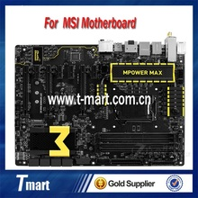 100% Working Desktop Motherboard For MSI Z97 MPOWER MAX AC System Board Fully Tested