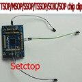 Universal clip de chips TSOP / MSOP / SSOP / TSSOP / SOIC / SOP coche de control remoto clave IC pin clip de programación en línea