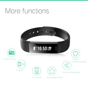 DAWO Fitness Watch Pedometer Fitness Bracelet Passometer Smart Bracelet 115 Smart Band Hembeer Step Counter Smart Band 3