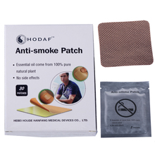 HODAF 30pcs/ box Anti-Smoke Patch Stop Smoking Patches Health Care Product Smoking Cessation No Bad Effects For Body