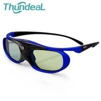 Thundeal 2PC SG1000 Battery Universal DLP 3D Glasses Active Shutter 96 144Hz For Optoma BenQ Acer