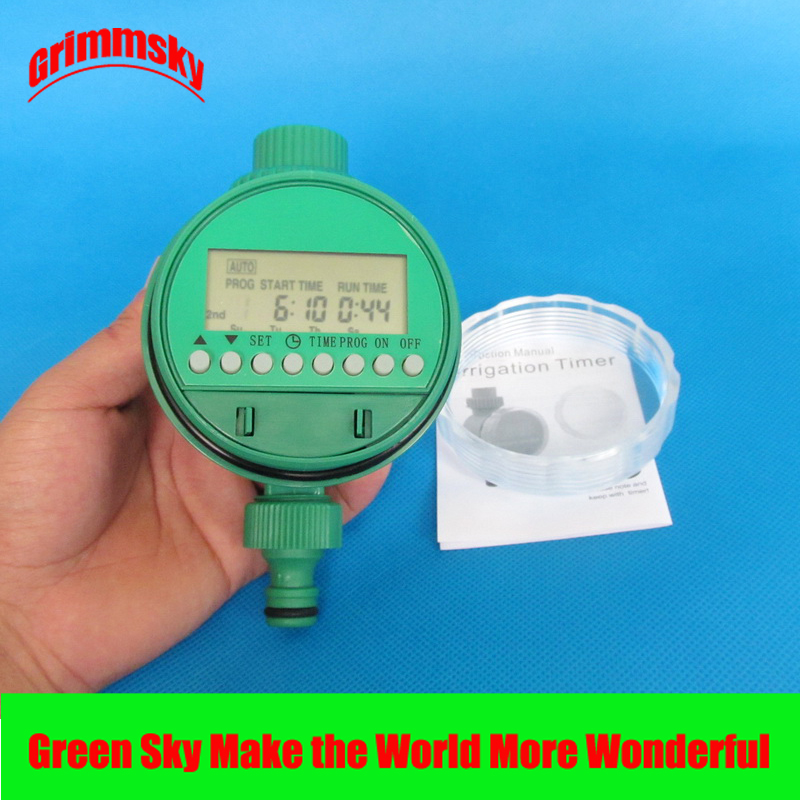 high quality LCD analogue waterproof automatic water timer