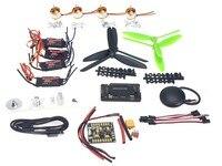 4 оси gps мини Drone вертолет Запчасти АРФ DIY Kit: gps APM 2,8 полет Управление EMAX 20A ESC безщеточный