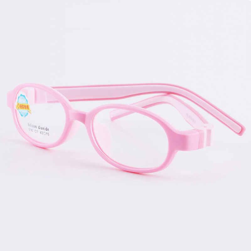 516 Criança Óculos para Meninos e Meninas Crianças Óculos de Armação Flexível Óculos de Qualidade para Proteção e Correção da Visão