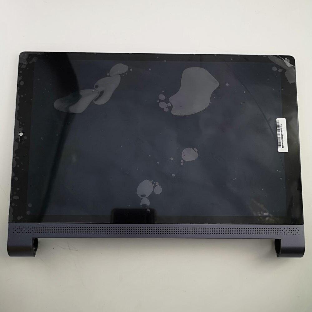 Para Guia Lenovo YOGA 3 10 Plus X703 X703F YT-X703L YT-X703X Matrix Display LCD Tela Do Painel de Toque Digitador Assembléia com quadro