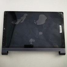 Para lenovo yoga tab 3 10 plus x703 x703f YT X703L YT X703X display lcd tela matriz do painel de toque digitador assembléia com quadro