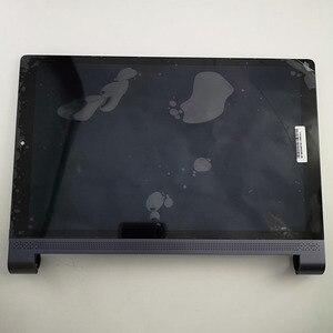 Image 1 - Para lenovo yoga tab 3 10 plus x703 x703f YT X703L YT X703X display lcd tela matriz do painel de toque digitador assembléia com quadro