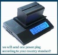 LCD Quick Digital Battery Charger For Sony BC TRV BCTRV NP FV30 NPFV30 NP FV50 NPFV50