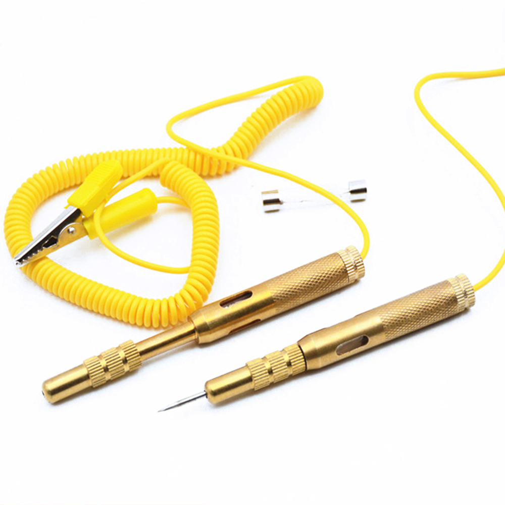 Automotive Electrical Tester Car Light Lamp Voltage Test Pen Pencil 6V 12V 24V For Auto Truck Motorcycle Testing Tools DY274 Pakistan