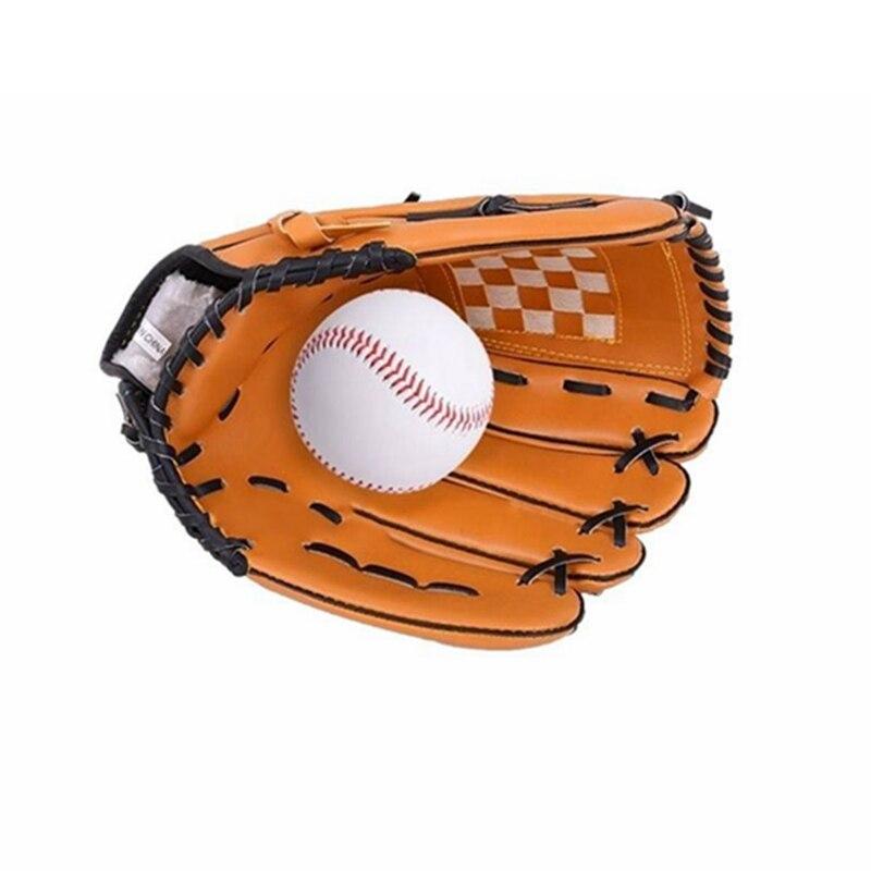 Sport & Unterhaltung Freundschaftlich 10,5 Zoll Kinder Baseball-handschuhe Links Hand Softball Pvc-handschuh Rutschfeste Professionelle Outdoor-sportarten Team Übung Training Aromatischer Geschmack Baseball & Softball Handschuhe