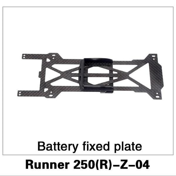 F16485 Original Walkera Runner 250 Advance Spare Part Battery Fixed Plate Runner 250(R)-Z-04