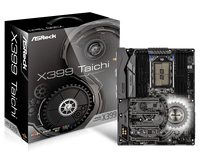 ASROCK X399 Taichi Desktop Computer Motherboard Supports 1950X CPU