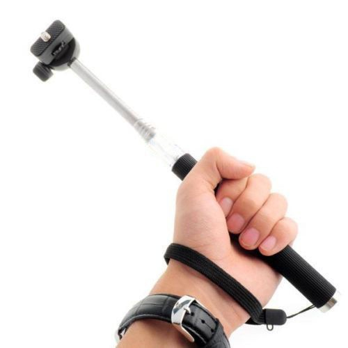 Extendable Handheld Stick For Gopro Accessories Telescopic Monopod Mount Adapter Tripod for GoPro Tripods extendable handheld stick gopro accessories