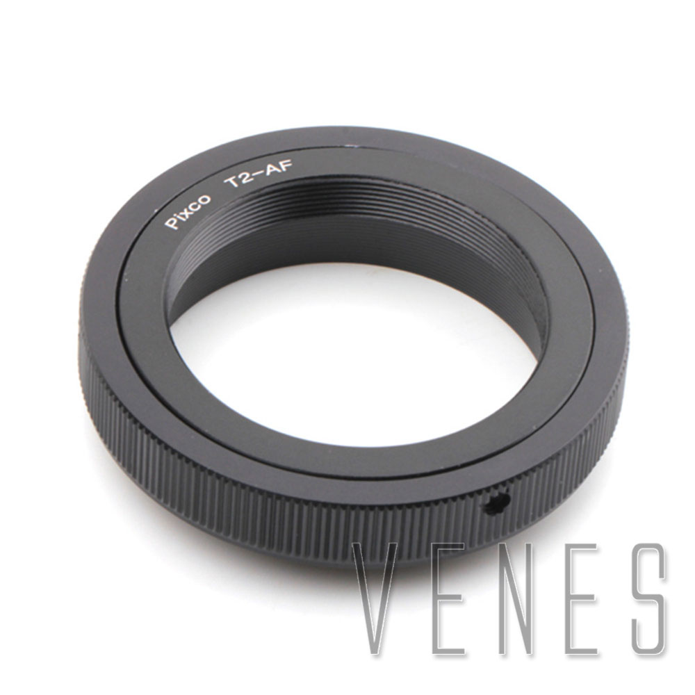 Venes T2-For <font><b>Sony</b></font>, <font><b>lens</b></font> adapter for T2 <font><b>Lens</b></font> to Suit for <font><b>Sony</b></font> For Minolta MA AF A58 A65 A57 A77 A900 A55 A35 A700 <font><b>A390</b></font> A350 A330 image