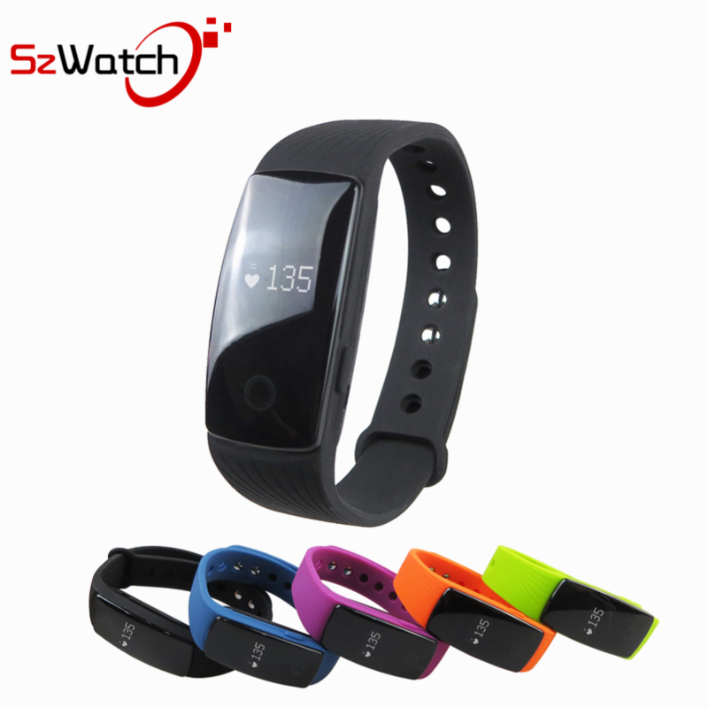 Smart Bluetooth Band Heart Rate Monitor Wristband Fitness Flex Bracelet for Android iOS PK xiomi mi Band 2 fitbits smart ID107
