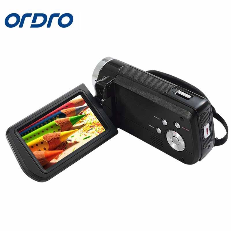 Ordro 3.0 pouces HDV Rotation écran 1080 P Full HD Reflex caméras numériques enregistreur vidéo professionnel 24MP CMOS caméra Photo - 4