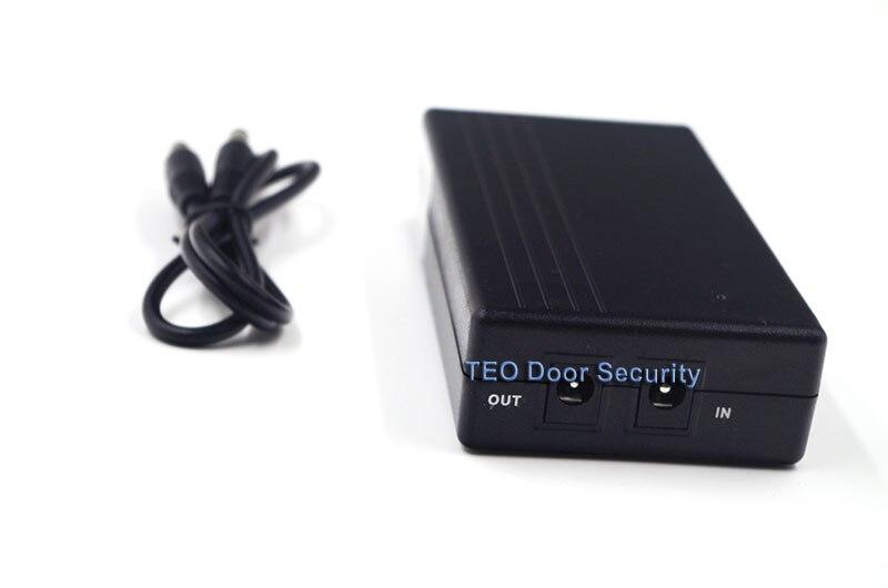 UPS For ZK Software 5V Mini Fingerprint Time Attendance Battery For Recorder When Power Off For U160/TX628/iclock360/VF360