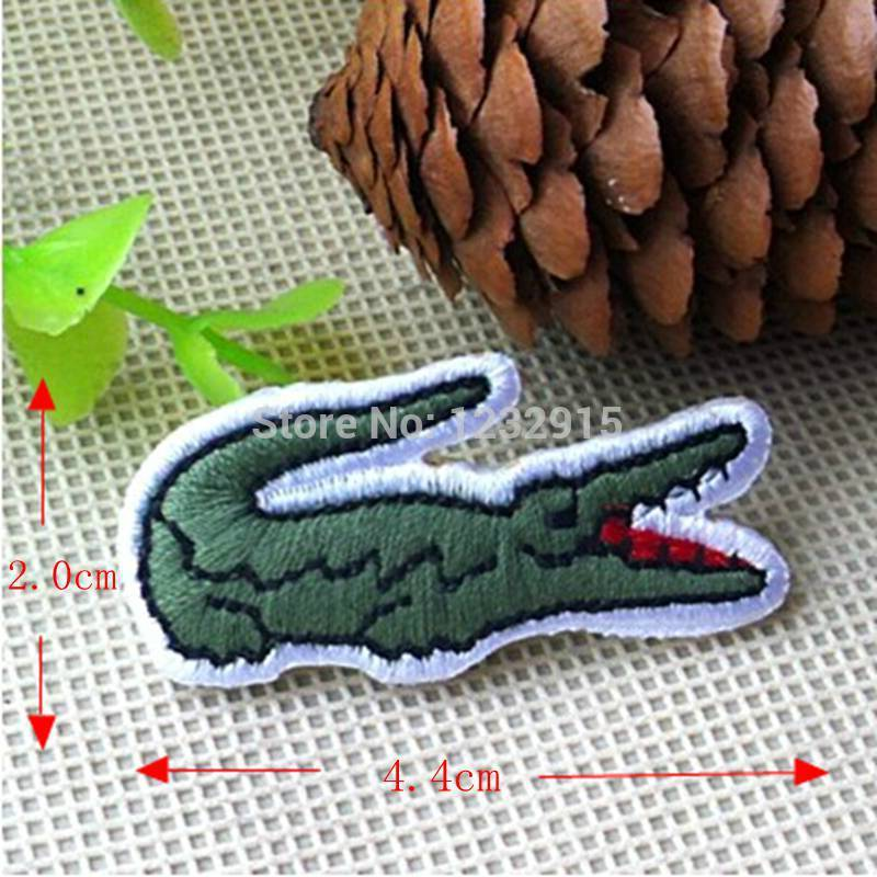Free shipping! Embroidered crocodile Sew On or Iron On Patch ...
