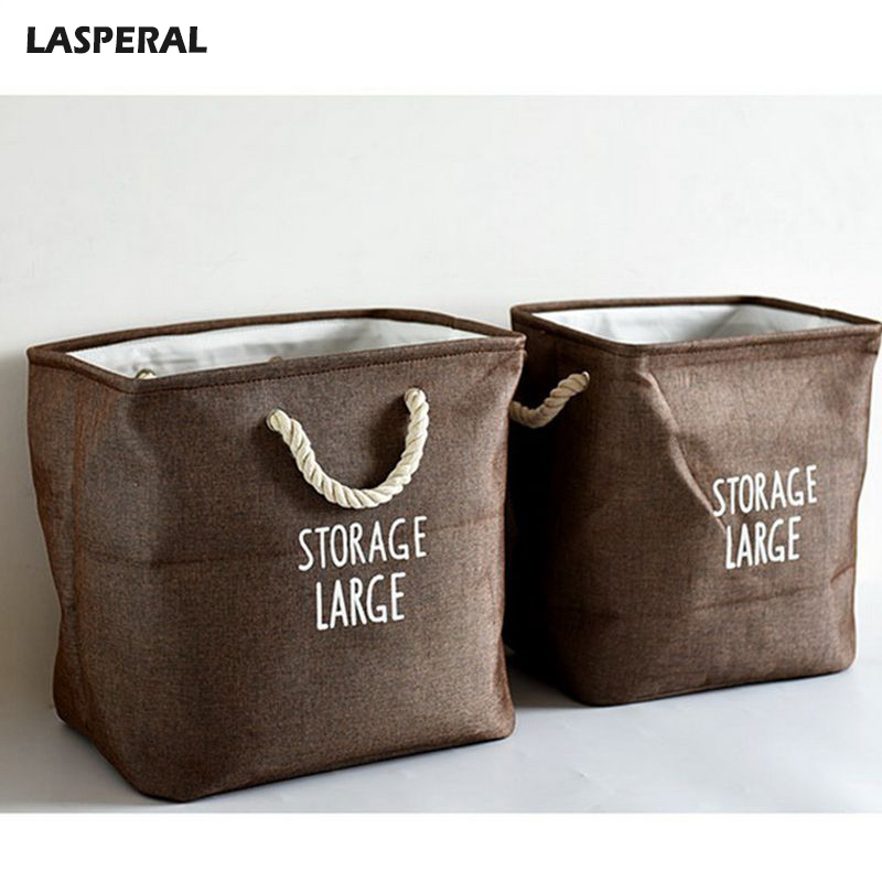 LASPERAL 1pc Quilt Bag Clothing Toys Finishing Box Folding Laundry Storage Bags Blanket Organizer Wardrobe Clothes Divider