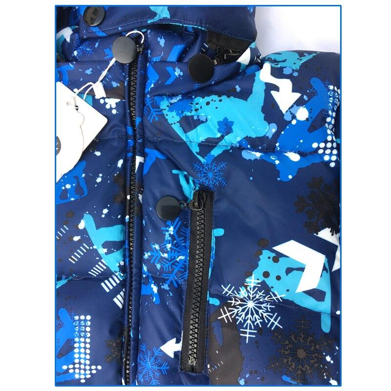 Kombinezon narciarski dla dzieci Kombinezon zimowy dla dzieci - Odzież dla niemowląt - Zdjęcie 5