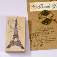 Towel Post Stamp 7 4cm Tinta Sellos Craft Wooden Rubber Stamps For Scrapbooking Carimbo Timbri