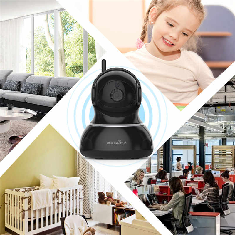 Wansview Q3 Indoor Home Wireless CCTV Wifi Camera WiFi