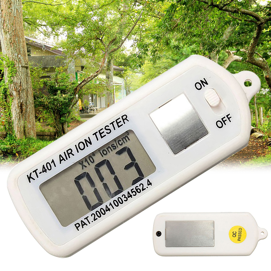 KT-401 AIR Aero Anion Tester Ion Meter Aeroanion Detector Negative Oxygen Strict Purifier Textile Polarity Concentration KT-401 AIR Aero Anion Tester Ion Meter Aeroanion Detector Negative Oxygen Strict Purifier Textile Polarity Concentration