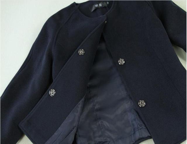 Mode Plaid costume femmes printemps et automne nouvelle Collection bleu court veste manteau + taille haute crayon Plaid jupe en laine ensemble