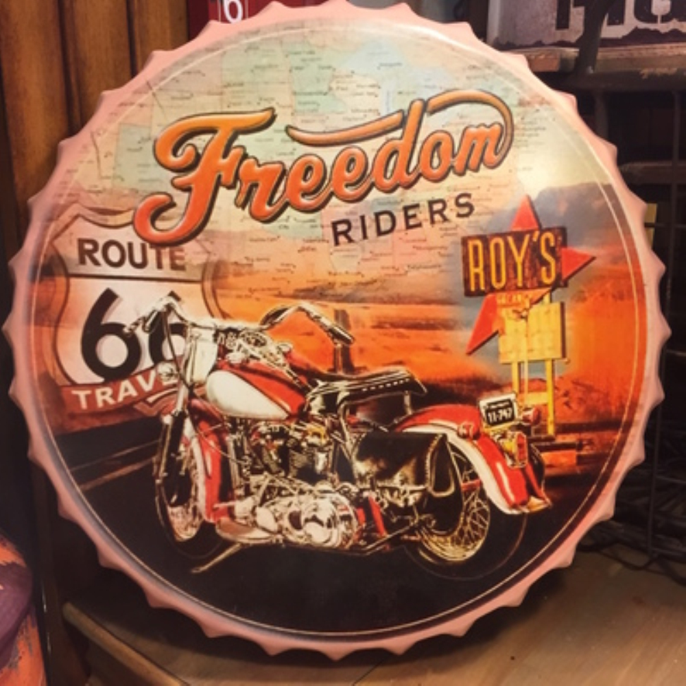 MOTHER FREEDOM Large Beer Cover Tin Sign Logo Plaque Vintage Metal Painting Wall Sticker Iron Sign Board Decorative Plates
