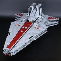 H&HXY IN STOCK 05077 6125Pcs Star The UCS Rupblic Destroyer wars Cruiser ST04 Set Building lepin Blocks Bricks Toys