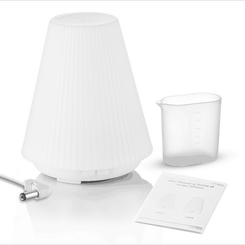 LED Night Light Ultrasonic Aromatherapy Humidifier 6 Color Change Essential Oil Diffuser Purifiers Mist Maker  For Home