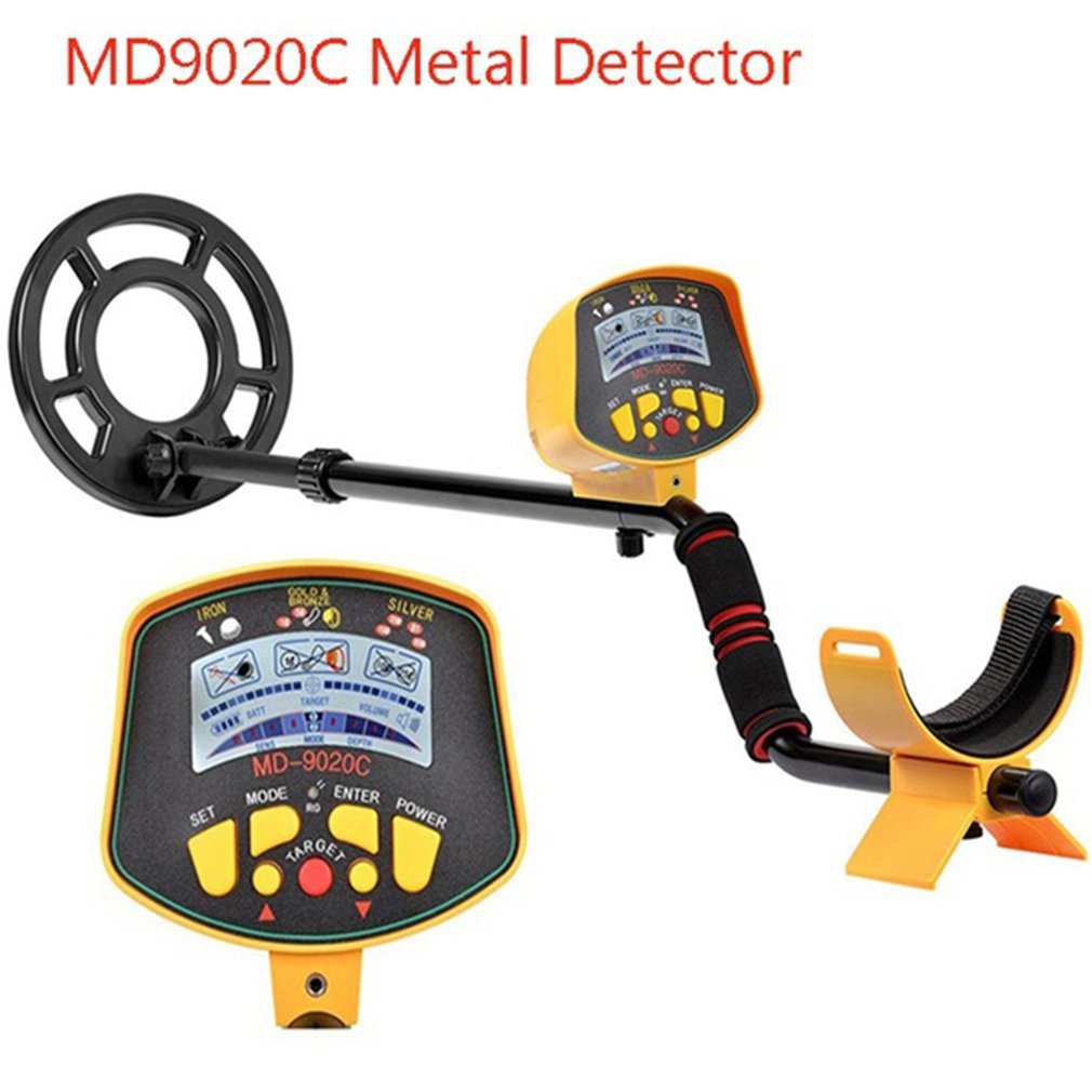 Metal Detector MD9020C Dropshipping Underground Security High Sensitivity LCD Display Treasure Gold Hunter Finder Scanner|Industrial Metal Detectors| |  - title=