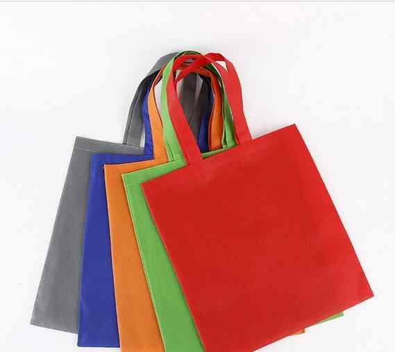 cheap Promotion custom  non woven bag with logo printing reusable material