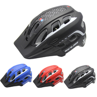 3 Colors MTB Mountain Road Bike Bicycle Helmet Unisex Adults Riding Cycling Hoverboard Helmet With Visor