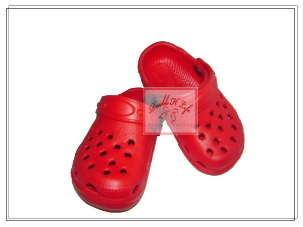 Doubleh H Life Pro  2012 New Arrival wholesale Red 15holes Garden EVA Shoes OEM Orders AvailableColors  clogs Kid clogs