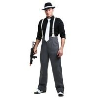 Mens Mafia Underboss 1920's Style Gangster Costume